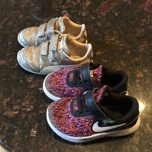 Used girl size 9 tennis shoes
